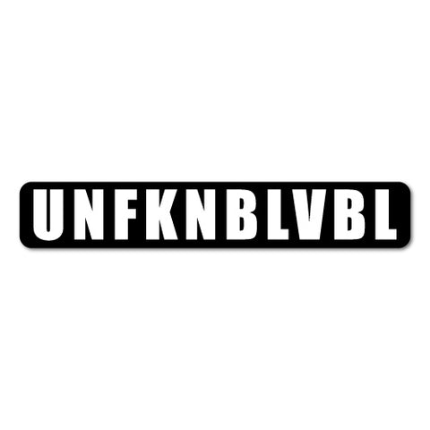 Unfknblvbl Jdm Car Sticker Decal