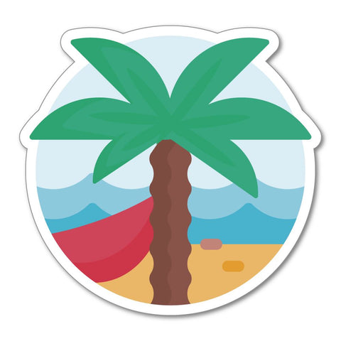 Palm Tree Sticker Decal