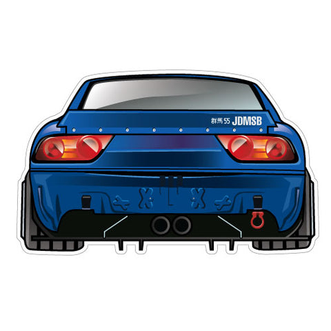 S13 Bumperless Sticker Decal