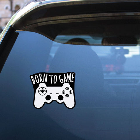 Born To Be A Gamer Sticker Decal