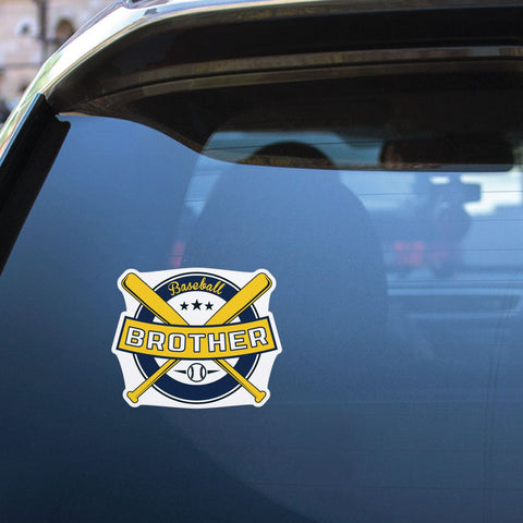 Baseball Brother Sticker Decal