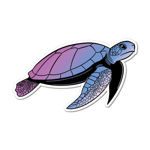 Mystic Turtle Sticker Decal