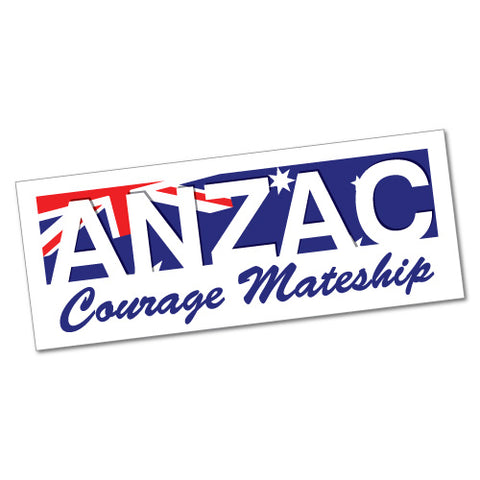 Courage Mateship Sticker