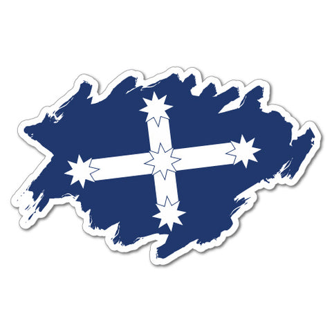 Eureka Flag Sticker