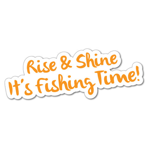 It's Fishing Time Sticker