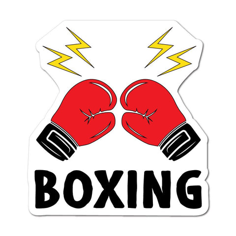 Boxing Sport Sticker Decal