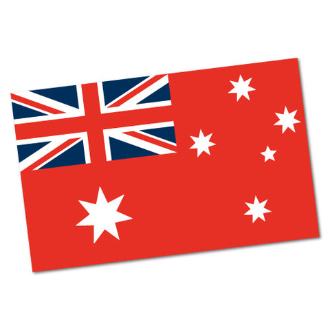Australian Nautical Flag Sticker