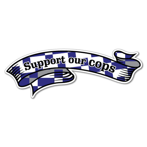 Support Our Cops Sticker