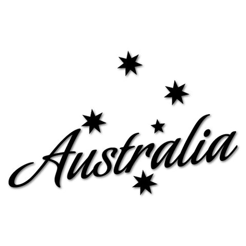 Australia Southern Cross Sticker