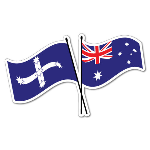 Australia Eureka Flag Sticker