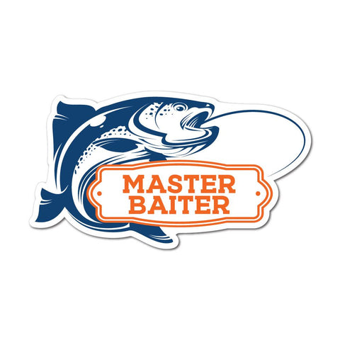 Master Fish Baiter Sticker Decal