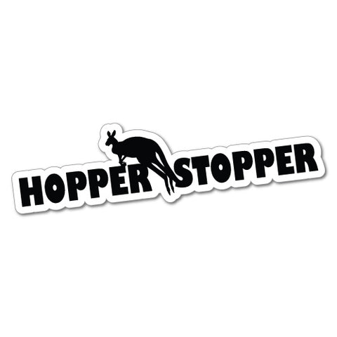 Hopper Stopper Sticker