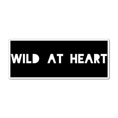 Wild at heart free spirit fun  Car Sticker Decal