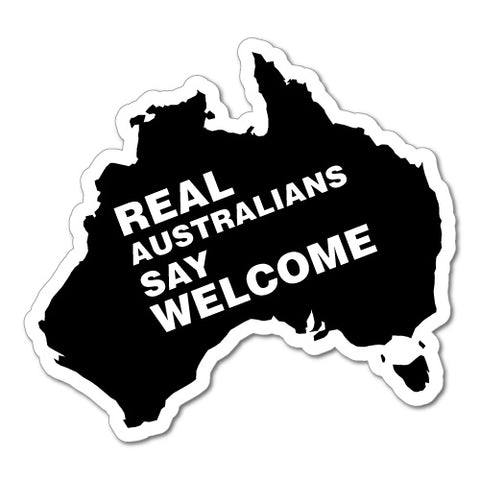 Real Australian Say 02 Sticker