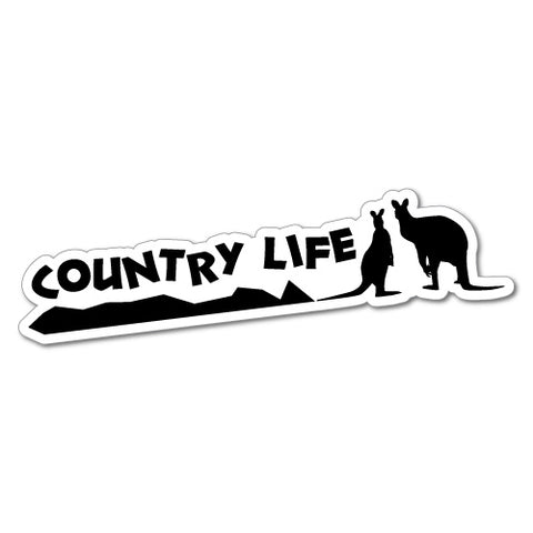 Country Life Outback 4X4 4Wd Offroad Bush Sticker