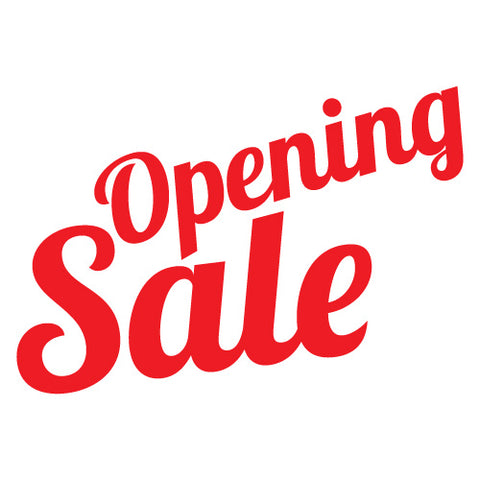 Opening Sale Shop Sticker