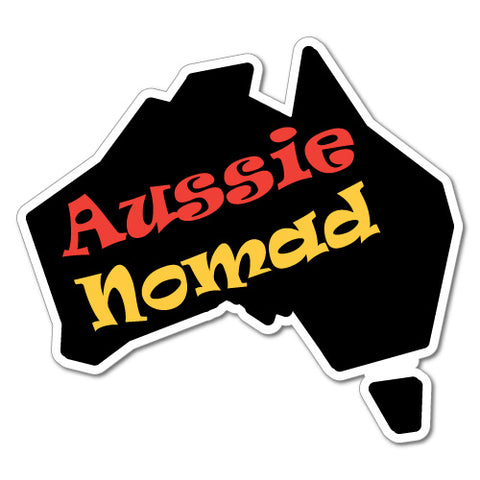 Aussie Nomad Car Ute Sticker