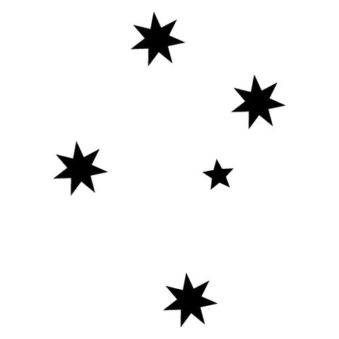Large Southern Cross Car Ute Sticker