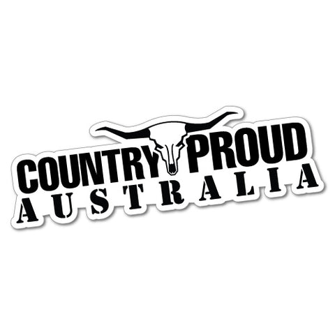 Country Proud Australia Sticker