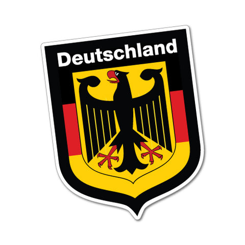 German Shield Deutschland Sticker