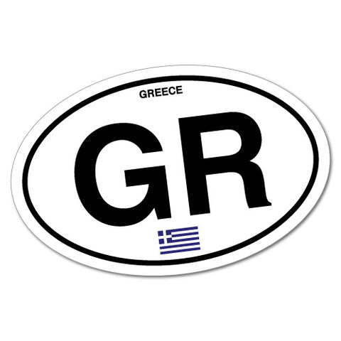 Greece Country Code Sticker