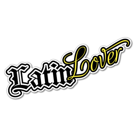 Latin Lover Sticker