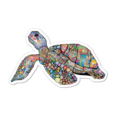 Turtle Pattern Henna Ocean Animal  Car Sticker Decal