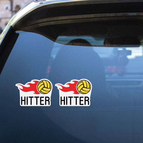 2X Ball Hitter Sticker Decal