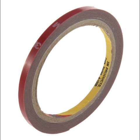 6Mm X 3M Double Sided Tape Car Automotive Trim