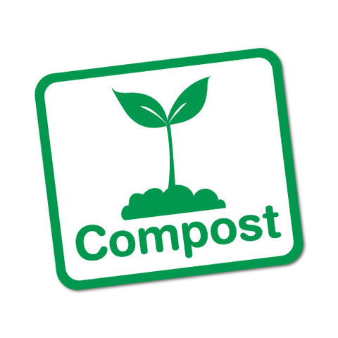 Compost Bin Food Waste Home Sticker