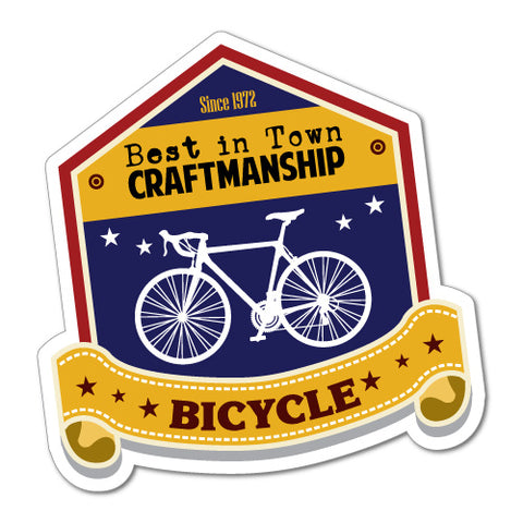 Best In Town Craftmanship Sticker