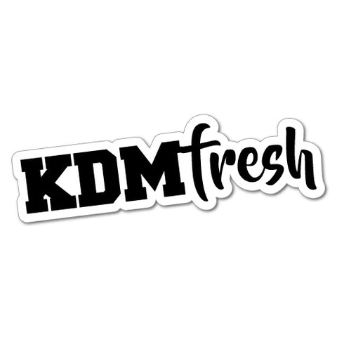 Kdm Fresh Car Sticker For Korean Kia Hyundai