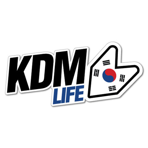 Kdm Life Car Sticker For Korean Kia Hyundai