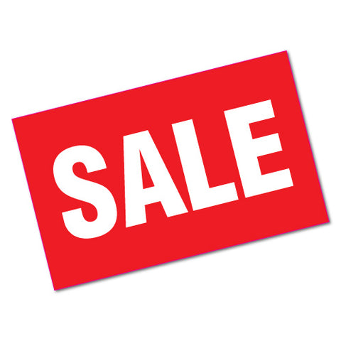 Sale Sign Sticker