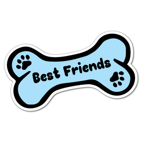 Best Friends Pets Bone Dog Sticker