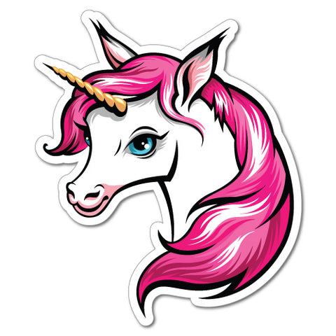 Unicorn Pink Cute Sticker