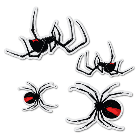 4x Redback Spider Sticker