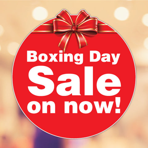 Boxing Day Sale Xmas Christmas Sticker