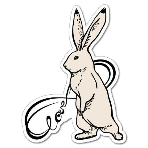 Rabbit Infinity Love Sticker