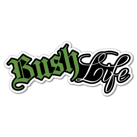 Bush Life 4X4 Mud 4Wd Sticker