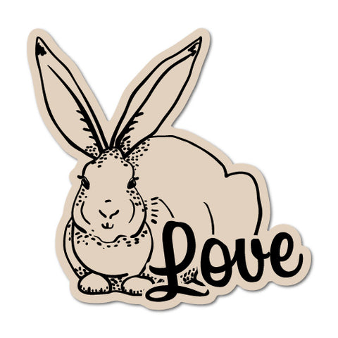 Rabbit Bunny Love Sticker