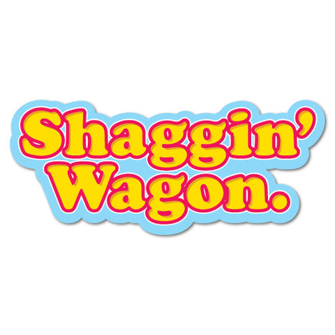 Shagin Wagon Sticker
