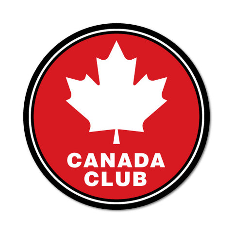 Canada Club Sticker