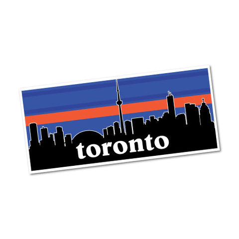 Toronto Skyline Canada Sticker