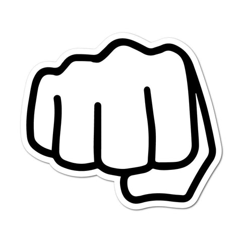 Fist Bump Bro Sticker Decal