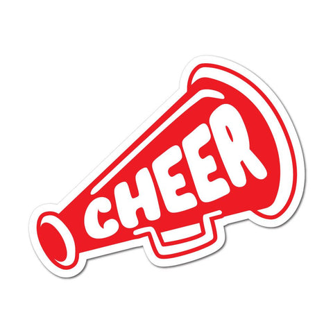 Cheer Cheerleader Sticker Decal