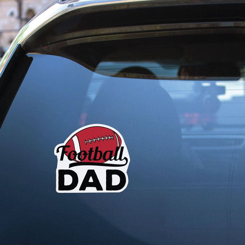 Football Dad Sticker Decal