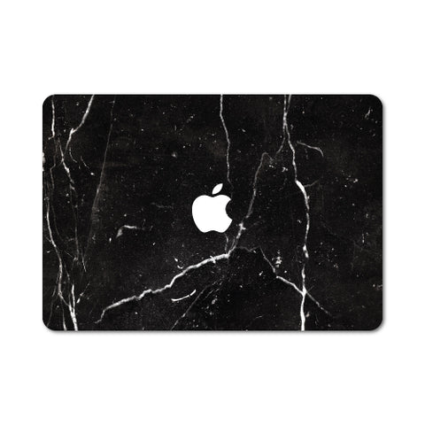 "Black Marble Skin For Macbook Pro 13"" Retina"