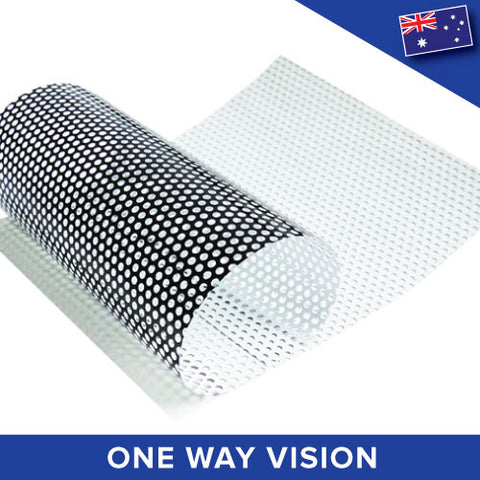 One Way Vision Perforated Printable Vinyl Vehicle Car Privacy Film