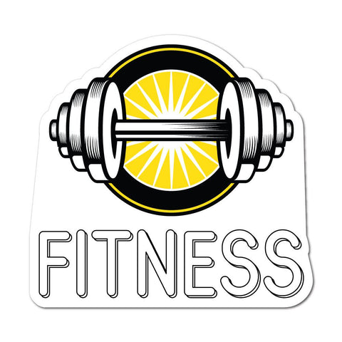 Gym Fitness Sticker Decal